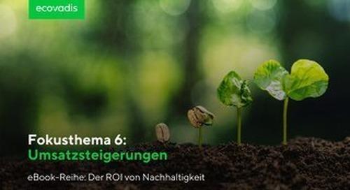 ROI-Fokusthema 6: Umsatzsteigerungen   EcoVadis