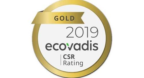 HH GLOBAL renew EcoVadis Gold status