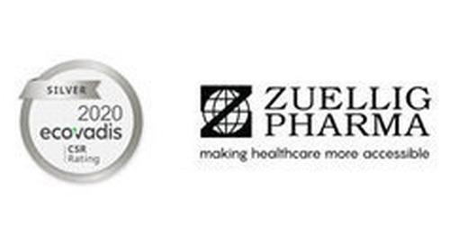 Zuellig Pharma awarded EcoVadis Silver medal 2020 for sustainability