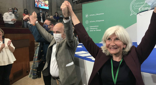 La Convention citoyenne pour le climat demande un référendum pour inscrire le climat dans la Constitution