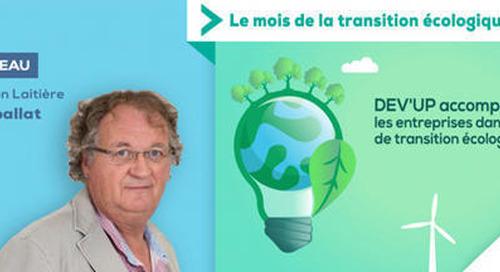 Laiteries H. Triballat, entreprise engagée pour réduire son empreinte carbone