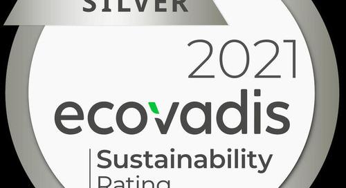 Schoch Vögtli freut sich über das Silber-Rating von EcoVadis