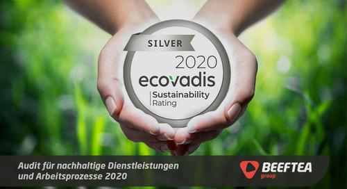 BEEFTEA erhält Zertifizierung für nachhaltige Events