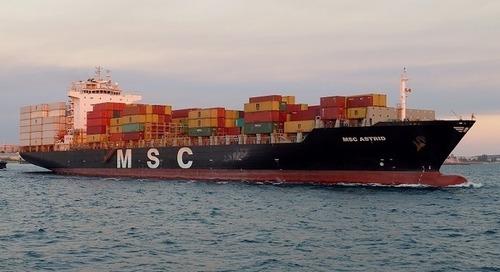 Si le transport maritime était un pays, il serait le huitième plus gros émetteur de l'Union européenne