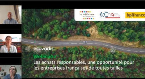 [Webinaire] Les achats responsables, une opportunité pour les entreprises françaises de toutes taill