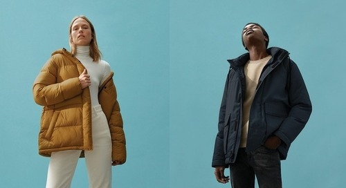 It's hard to believe these stylish jackets were once plastic bottles