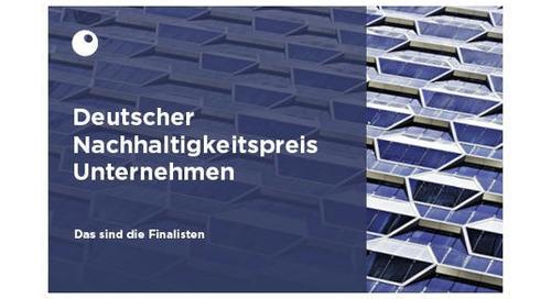 ▷ EcoVadis Finalist des Deutschen Nachhaltigkeitspreis Unternehmen im Transformationsfeld Lieferkette