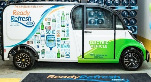 Nestlé Consumer Beverage Delivery Service Certified Carbon Neutral