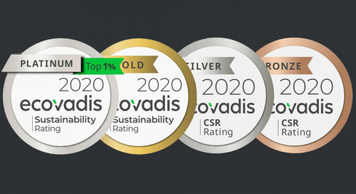 The Ecovadis rating, a good indicator of the environmental commitment
