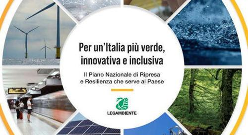 Recovery, le proposte di Legambiente per un'Italia più verde e inclusiva Agenzia di stampa