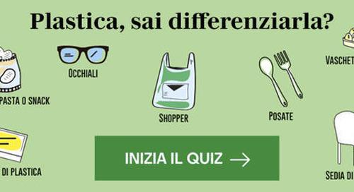 Italiani campioni del riciclo, nuova vita all'1% di rifiuti in più