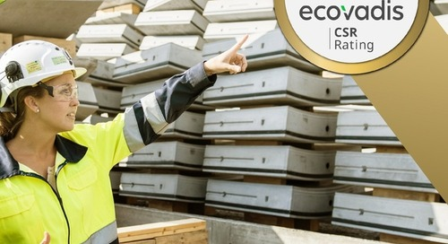 Ghella awarded Gold Medal rating from EcoVadis for sustainability
