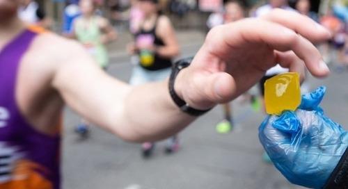 Marathon de Londres : 200 000 bouteilles économisées grâce à des bulles d'eau