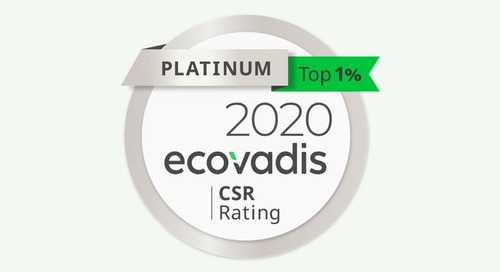 FIRMENICH ACHIEVES TOP ECOVADIS PLATINUM SUSTAINABILITY RATING, RANKING IN THE TOP 1%
