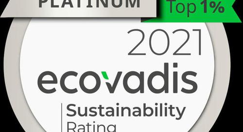Tana-Chemie GmbH erhält höchste Auszeichnung von EcoVadis