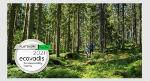 Metsä Board erreicht erneut die höchste Nachhaltigkeitsbewertung von EcoVadis