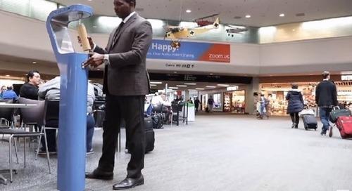 La vente de bouteilles d'eau en plastique bannie de l'aéroport de San Francisco