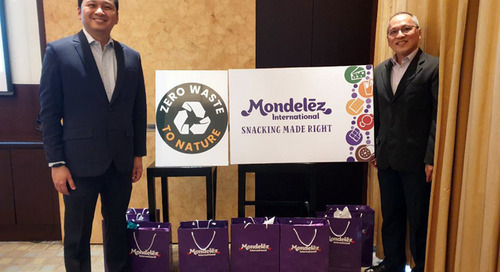 Mondelez PH joins zero waste campaign