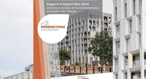 L'USH publie le premier rapport d'impact du secteur HLM