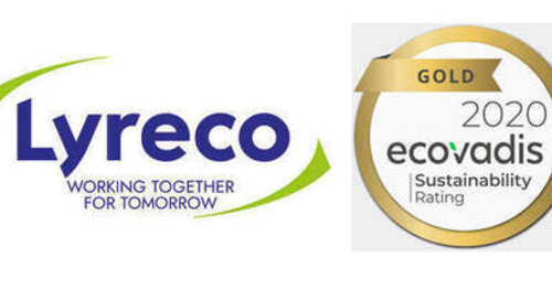Lyreco erhält EcoVadis-Gold-Zertifizierung