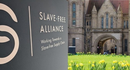 The University of Manchester signs up to the Slave-Free Alliance