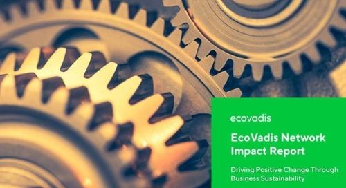 EcoVadis Sustainability Network Impact Report