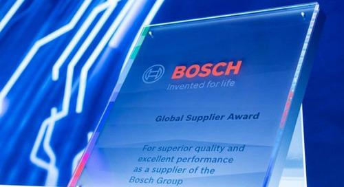 Bosch prämiert Nachhaltigkeit bei Lieferanten