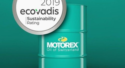 EcoVadis-Silbermedaille für MOTOREX