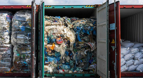 Only 16% of world's waste recycled