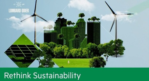 The unmissable opportunity to build a sustainable economic future | Rethink Sustainability