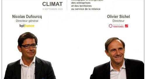 Banque du climat : 40 milliards pour transformer l'économie en quatre ans