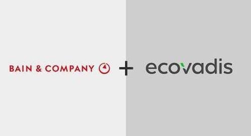 Bain & Company buys stake in ESG platform EcoVadis