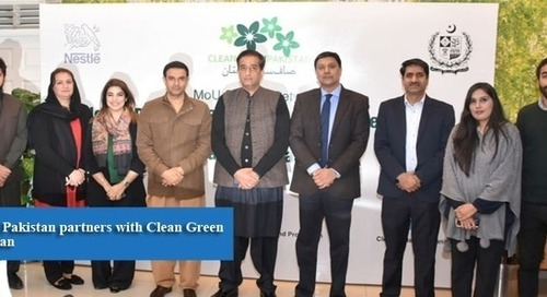 Nestle Pakistan partners with Clean Green Pakistan