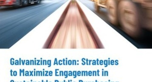 Galvanizing Action: Strategies to Maximize Engagement in Sustainable Public Purchasing | EcoVadis