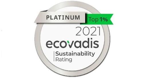 Premio a la sostenibilidad: Calificación de platino para Evonik