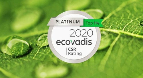 MANE receives highest rating from EcoVadis