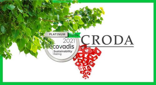 ✅ EcoVadis Platinum ► El NUEVO estatus de CRODA Internacional