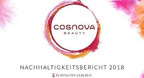 cosnova Beauty veröffentlicht ersten Nachhaltigkeitsbericht und führt ambitionierten Nachhaltigkeitskurs fort