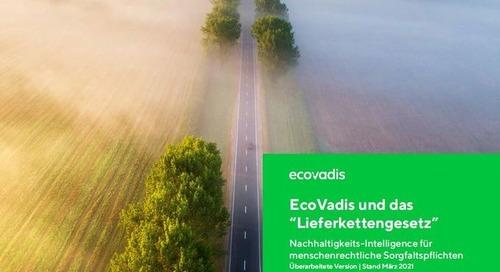 EcoVadis und das Lieferkettengesetz | EcoVadis