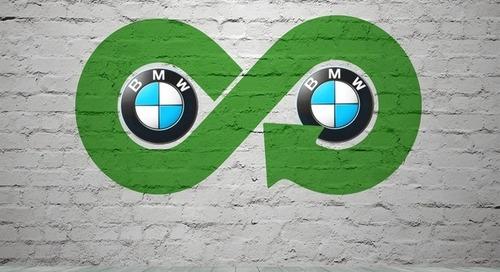 BMW accelerates into the circular economy