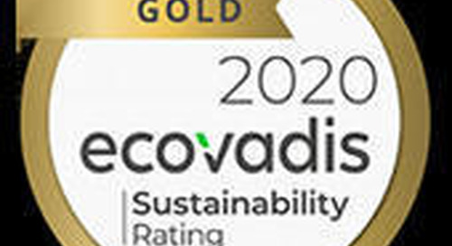 Quadient Awarded Gold Medal by EcoVadis for its Commitment to Corporate Social Responsibility