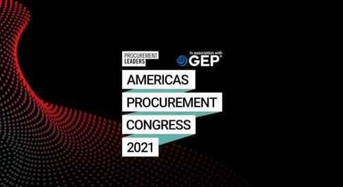 Procurement Leaders' Americas Procurement Congress 2021