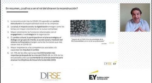La reconstrucción tras la COVID-19 supondrá un cambio estructural en la responsabilidad social de las empresas