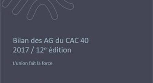 Bilan des AG du CAC 40 2020