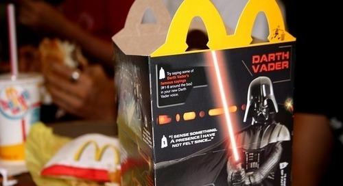 Vers la fin des jouets en plastique dans les menus enfants des fast-foods