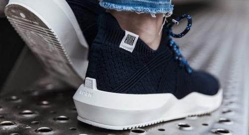 Norm's 1L11 trainer produces 80 per cent less carbon than typical shoes