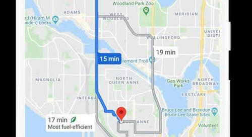 Google Maps diventa sostenibile: ora mostra anche il percorso più green