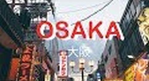Two Minutes Travel Series: Osaka - Japan 🇯🇵 ❄️ , Feb 2018 || Jasmine Jauw