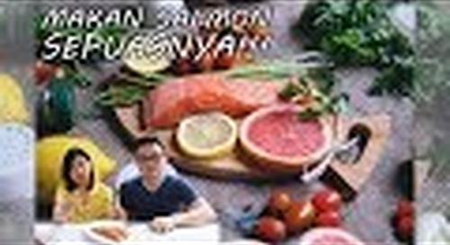 SEPUASNYA Makan Salmon dan Sashimi Seger di Rumah Hemat!!!