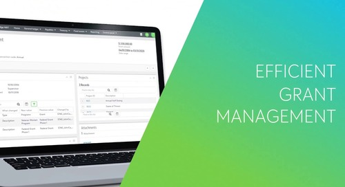 VIDEO: Managing Grants in Financial Edge NXT